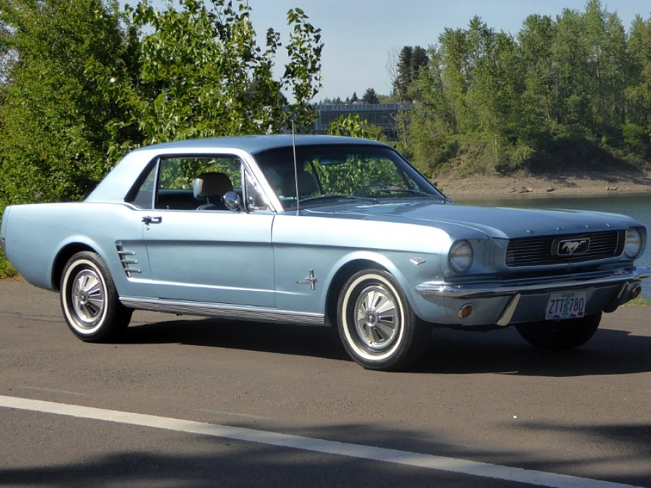 1966 Ford Mustang Coupe = A code 289 auto low miles $19.5k For Sale (picture 2 of 6)