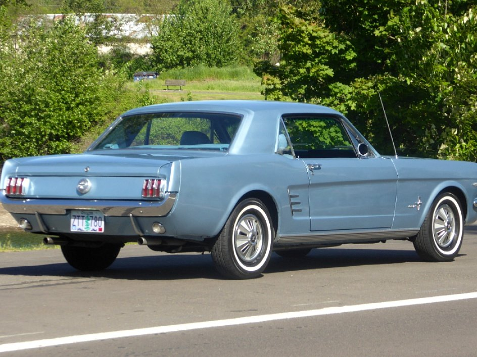 1966 Ford Mustang Coupe = A code 289 auto low miles $19.5k For Sale (picture 3 of 6)