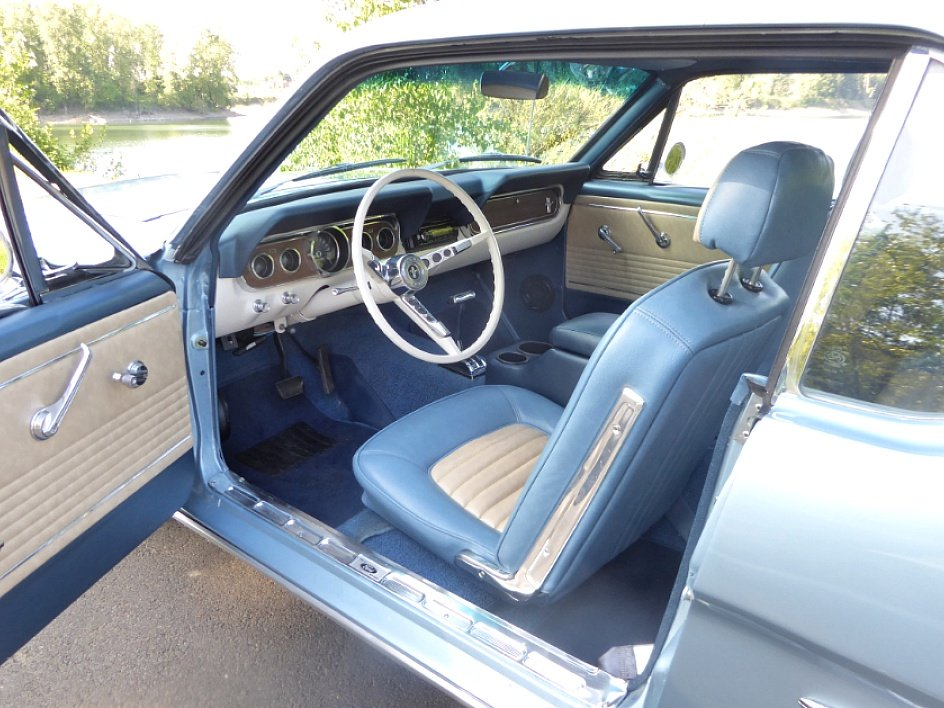 1966 Ford Mustang Coupe = A code 289 auto low miles $19.5k For Sale (picture 4 of 6)