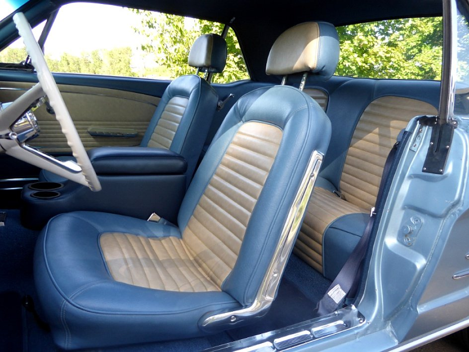 1966 Ford Mustang Coupe = A code 289 auto low miles $19.5k For Sale (picture 5 of 6)