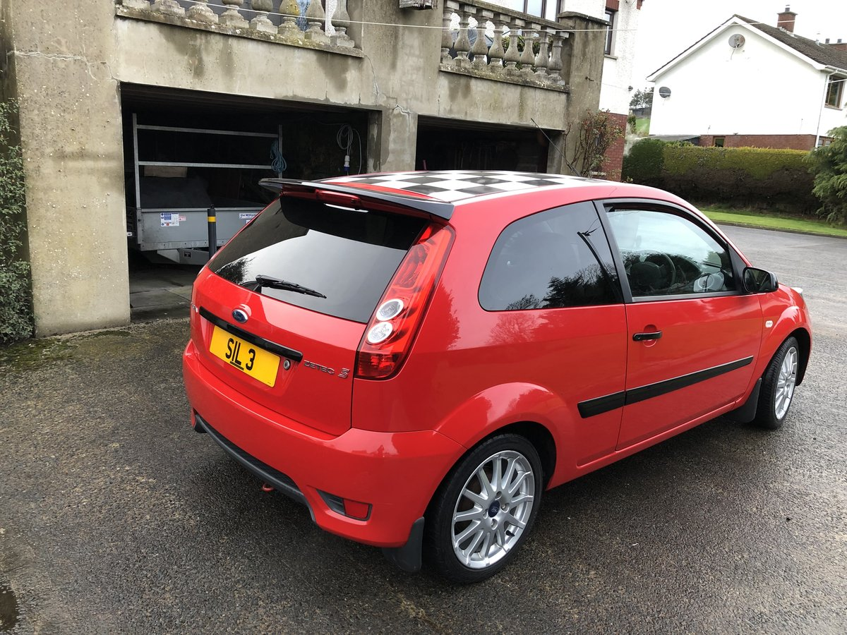 2008 30th Anniversay Ford Fiesta 1.6 Zetec S For Sale (picture 4 of 5)