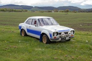 1971 Ford Escort Mexico Race Prepared at Morris Leslie 17th Aug For Sale by Auction