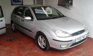 2002 FORD 5 DOOR FOCUS TURBODIESEL For Sale