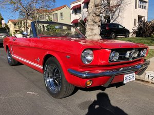 1965 Mustang Convertible V8 289 For Sale