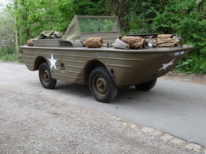 1942 Ford GPA Amphibious Jeep ready to drive or swim