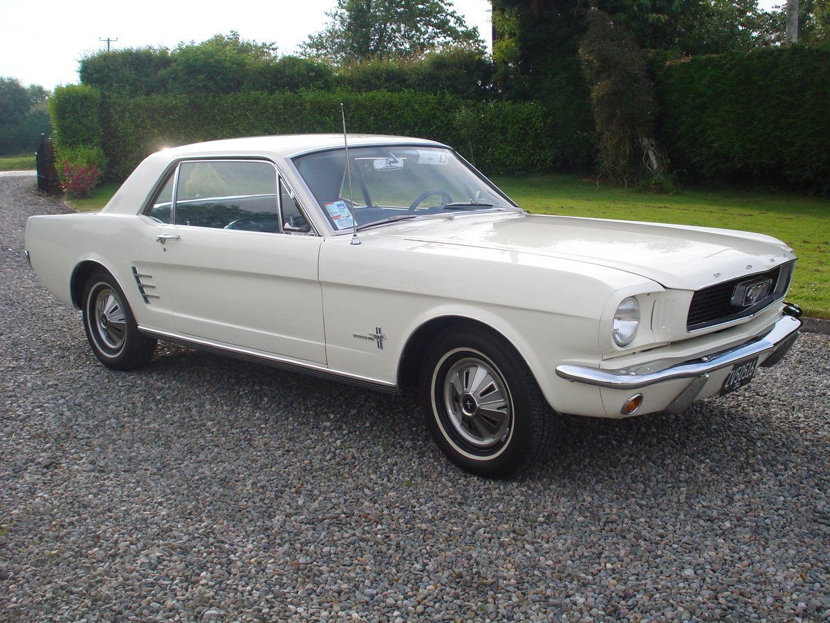 FORD MUSTANG 1966 MANUAL, STRAIGHT SIX. 3.3 CID. For Sale (picture 1 of 6)