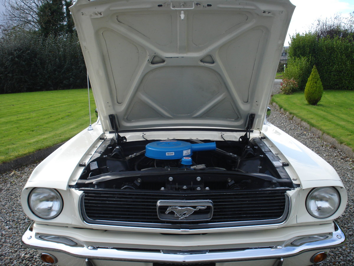 FORD MUSTANG 1966 MANUAL, STRAIGHT SIX. 3.3 CID. For Sale (picture 4 of 6)