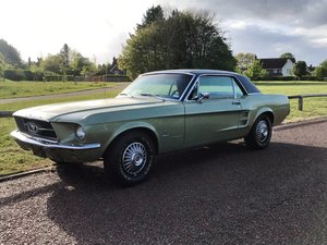 1967 289 V8 Ford Mustang For Sale
