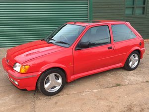 1991 Fiesta RS Turbo --- Partially Restored For Sale by Auction