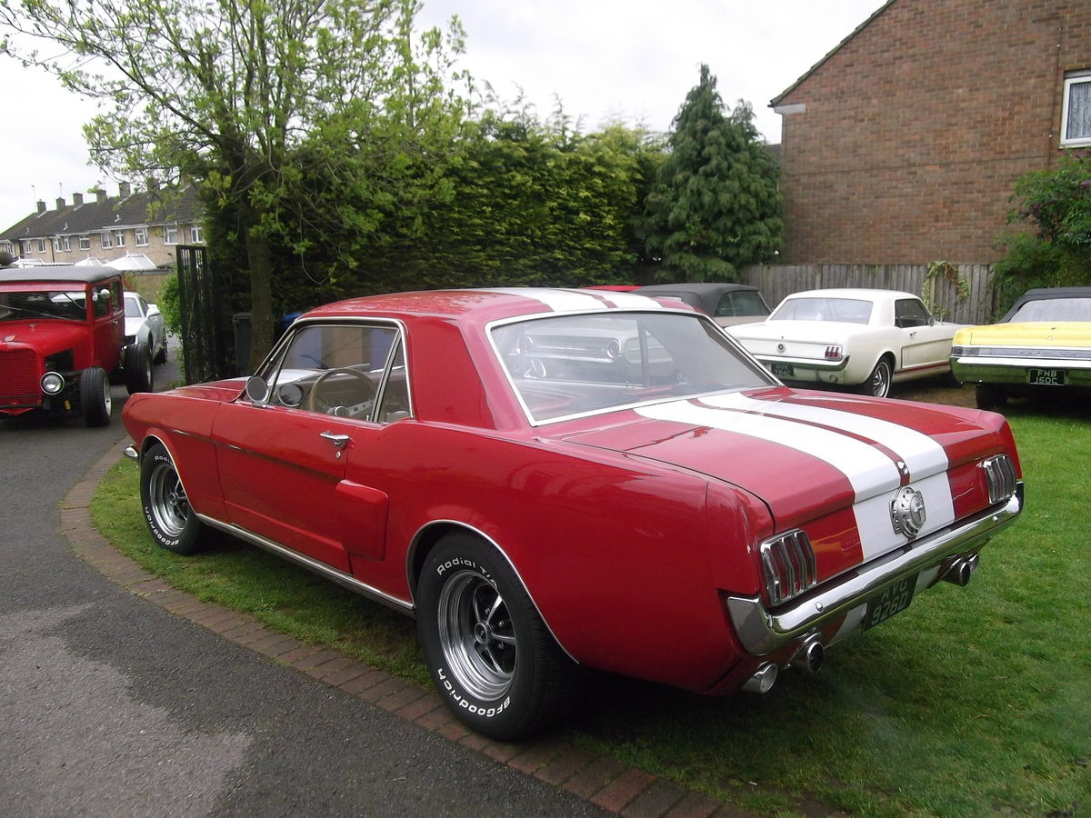 1966 Mustang Coupe 302 fuel injected V8, Automatic, Pony Interior For Sale (picture 3 of 6)