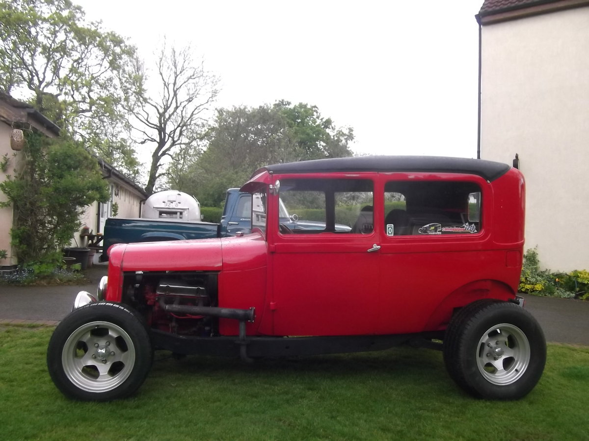 1929 Ford Model A Sedan All Steel Body, Hot Rod For Sale (picture 3 of 6)