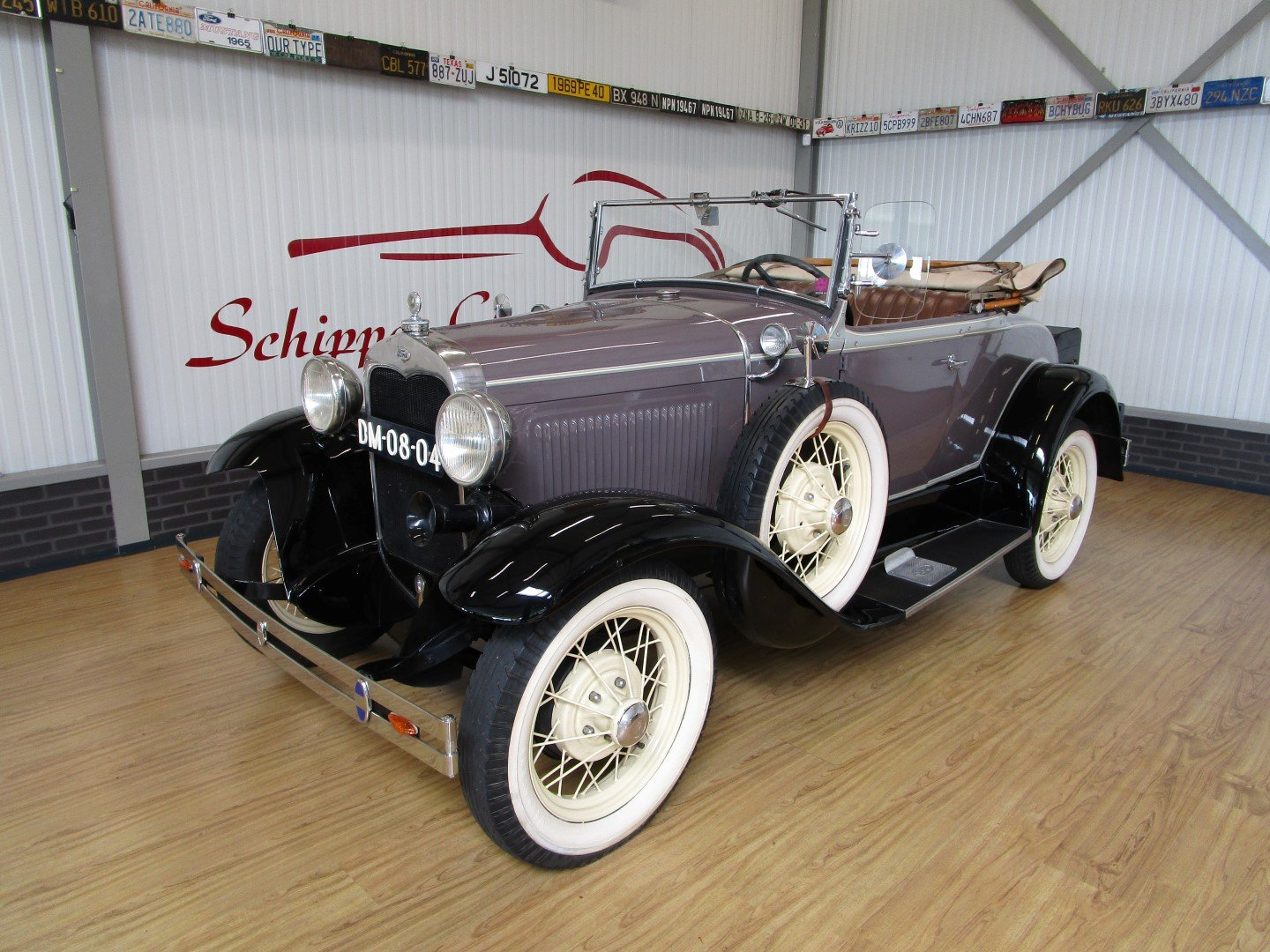 1930 Ford Model A Roadster with Rumble Seat For Sale (picture 1 of 6)