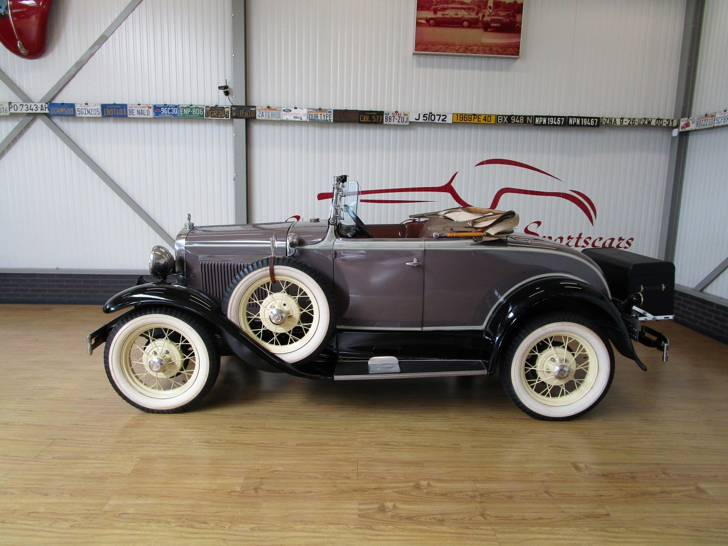 1930 Ford Model A Roadster with Rumble Seat For Sale (picture 2 of 6)