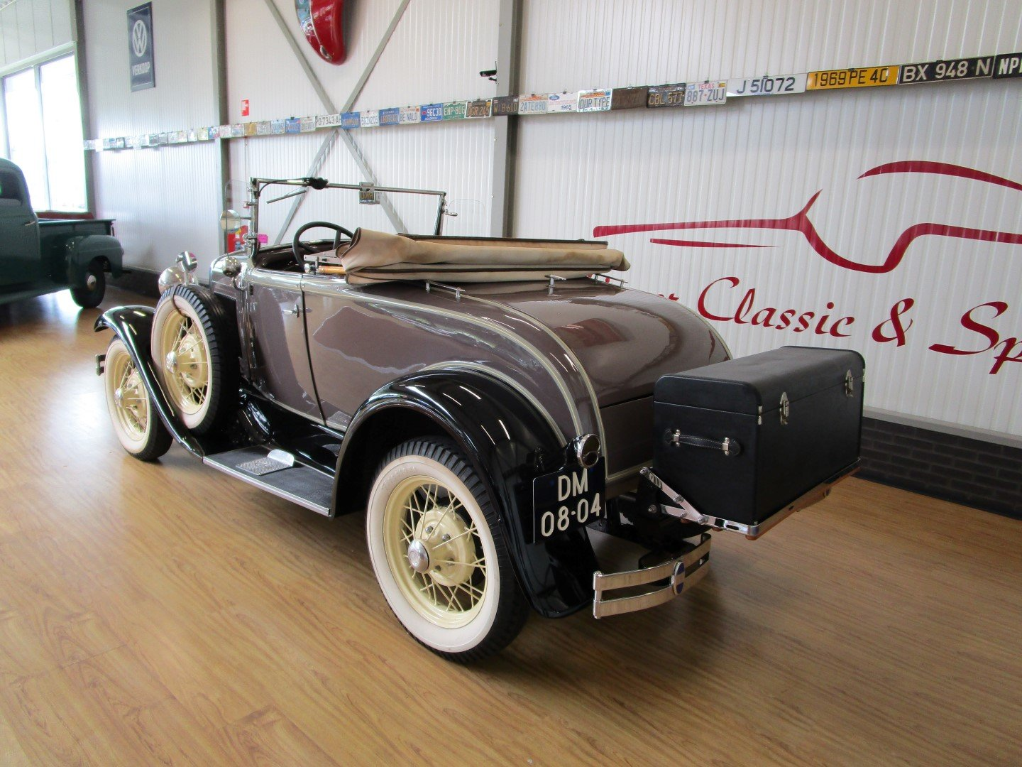 1930 Ford Model A Roadster with Rumble Seat For Sale (picture 3 of 6)