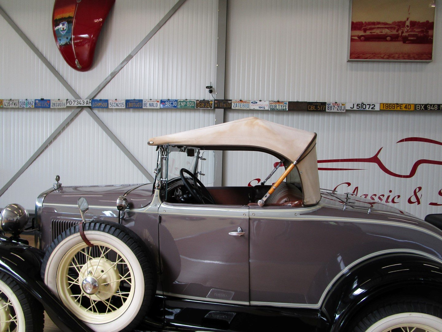 1930 Ford Model A Roadster with Rumble Seat For Sale (picture 5 of 6)