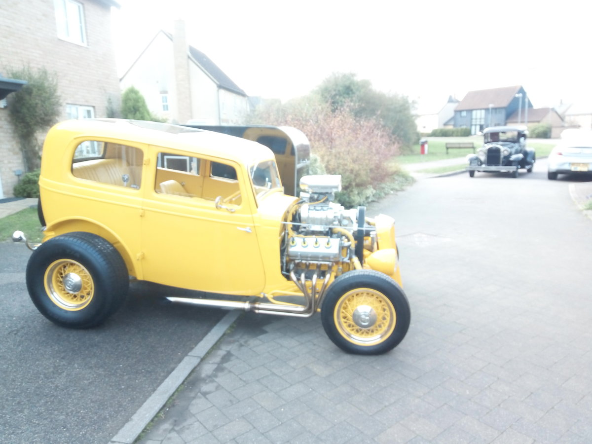 1936 Ford Model Y Hotrod Supercharged V8 For Sale (picture 1 of 6)