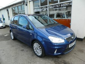 2007/57 Ford C-Max 1.8 Titanium 16v 5dr MPV 73200 miles FSH For Sale