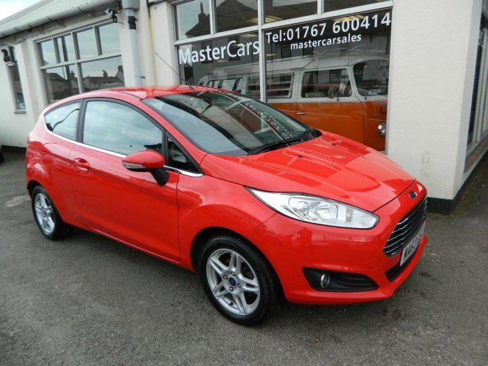 2013/63 Ford Fiesta 1.25 Zetec 3dr 29859 miles F/S/History  SOLD (picture 1 of 6)