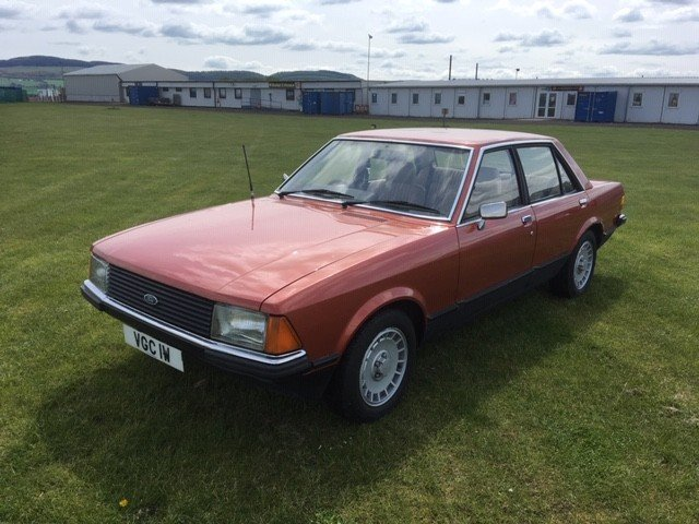 1980 Ford Granada L Auto at Morris Leslie Auction 25th May SOLD by Auction (picture 1 of 5)