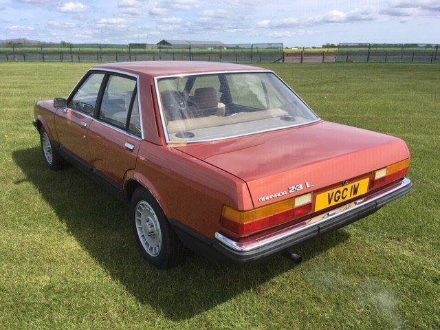 1980 Ford Granada L Auto at Morris Leslie Auction 25th May SOLD by Auction (picture 2 of 5)