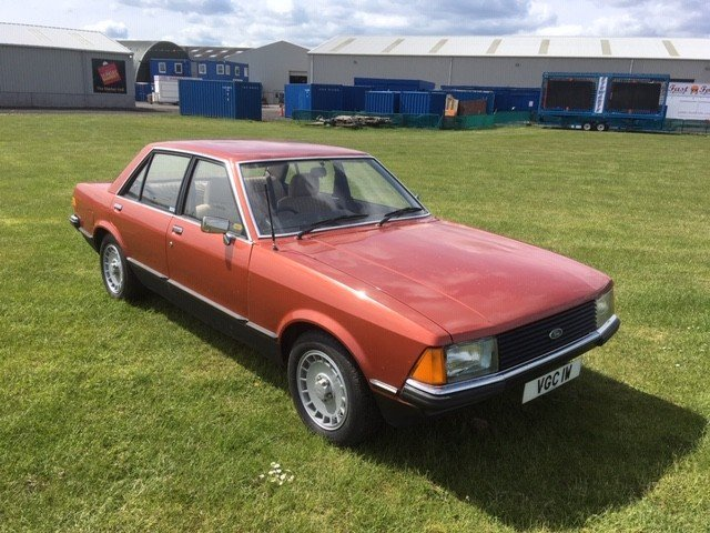 1980 Ford Granada L Auto at Morris Leslie Auction 25th May SOLD by Auction (picture 5 of 5)