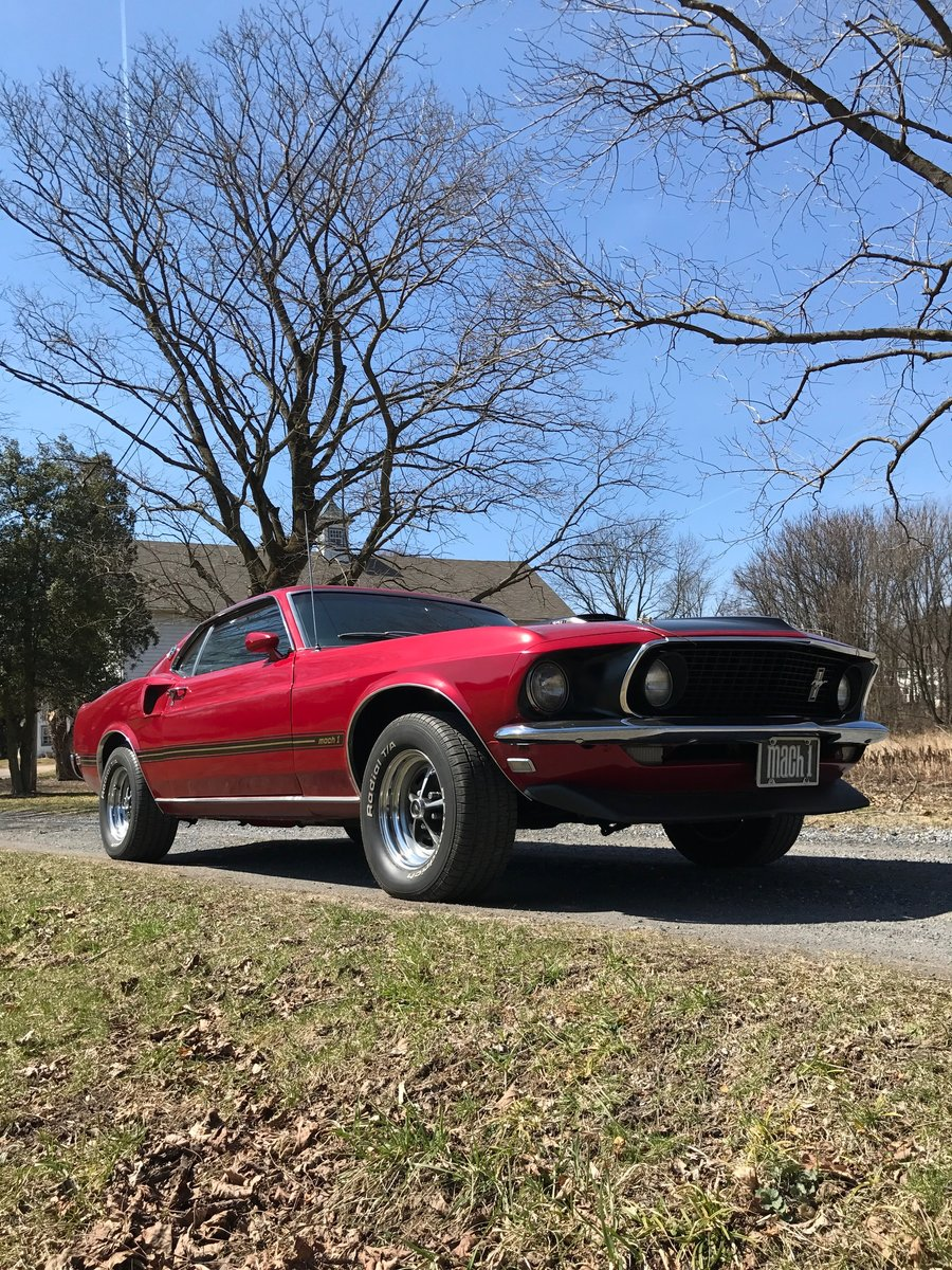 1969 Ford Mustang Mach 1 For Sale (picture 1 of 6)