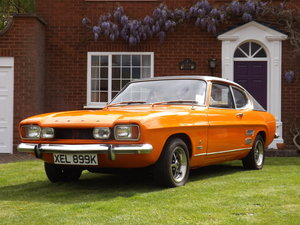 1971 Ford Capri 2000 GT XLR  -- Just 22000 miles from new! For Sale by Auction