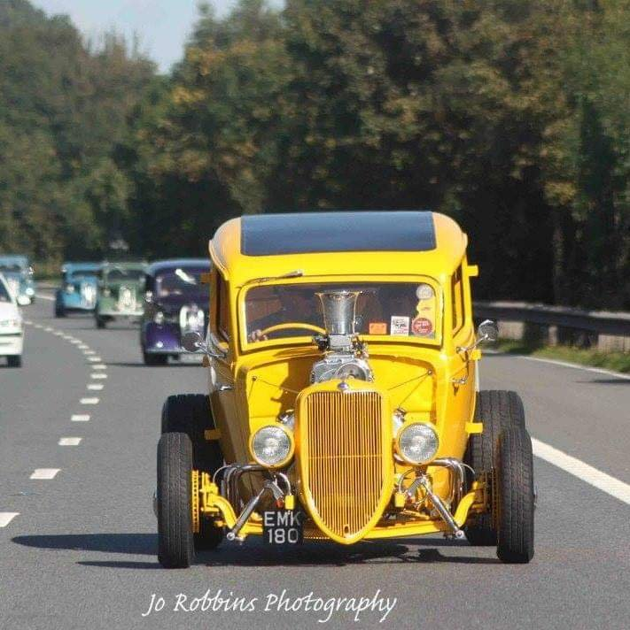 1936 Ford Model Y Hotrod Supercharged V8 For Sale (picture 3 of 6)