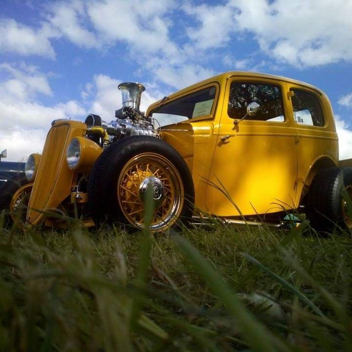 1936 Ford Model Y Hotrod Supercharged V8 For Sale (picture 4 of 6)