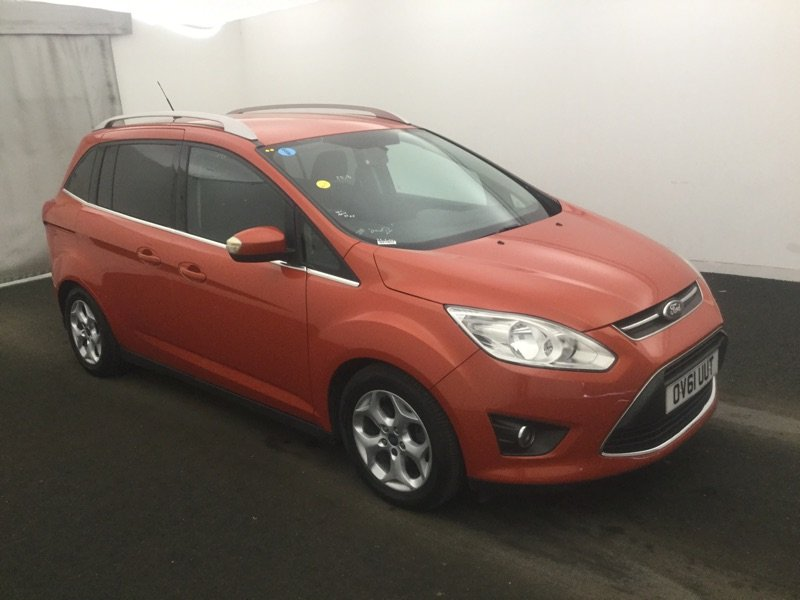 2011/61 Ford Grand C-Max 1.6TDCi Zetec 5dr 7 Seater 54104mls For Sale (picture 1 of 6)