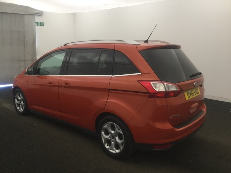 2011/61 Ford Grand C-Max 1.6TDCi Zetec 5dr 7 Seater 54104mls For Sale (picture 2 of 6)