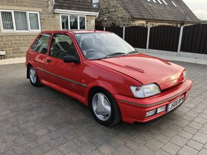 1991 Ford Fiesta RS Turbo For Sale by Auction