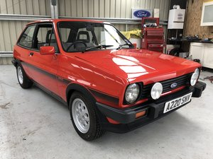 1983 Ford Fiesta XR2 with only 31,000 miles For Sale by Auction