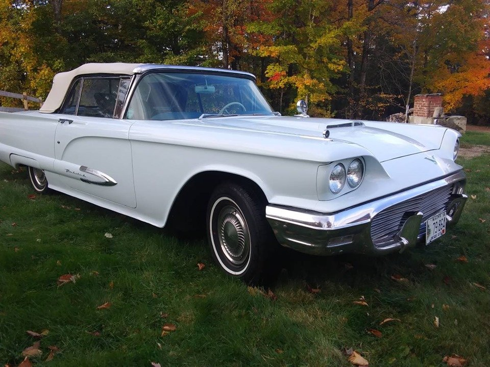 1959 Ford Thunderbird Convertible (Oxford, ME) $29,900 obo For Sale (picture 1 of 6)