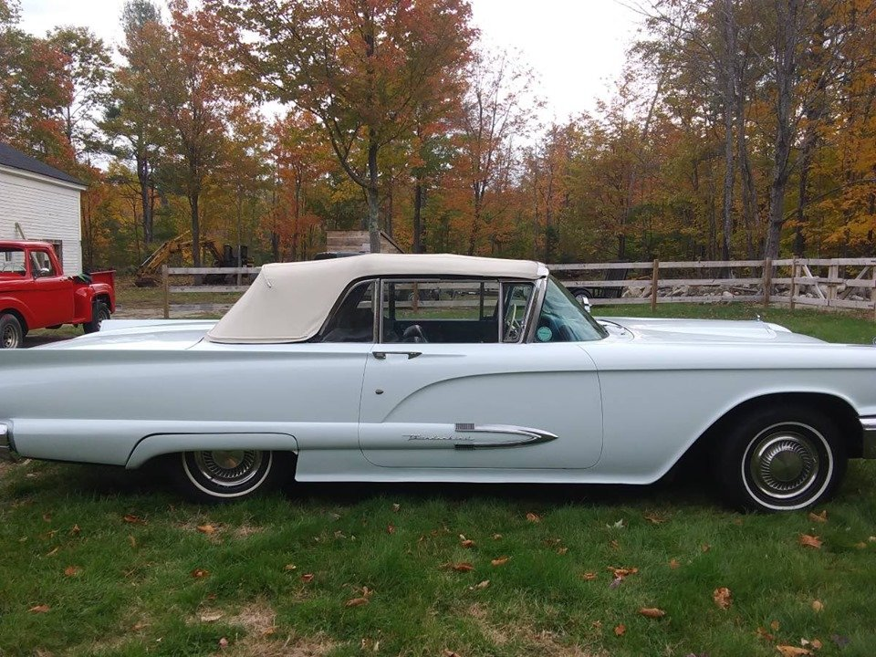 1959 Ford Thunderbird Convertible (Oxford, ME) $29,900 obo For Sale (picture 3 of 6)