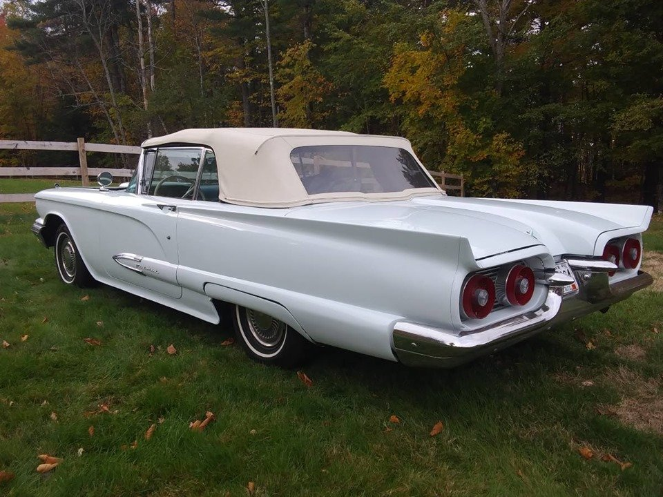 1959 Ford Thunderbird Convertible (Oxford, ME) $29,900 obo For Sale (picture 4 of 6)