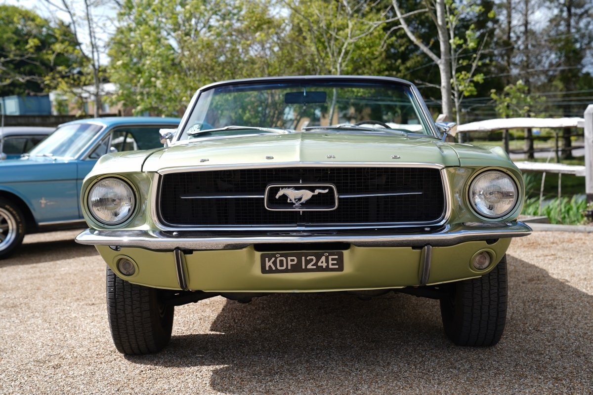 FORD MUSTANG 1967 289 V8 Manual four speed Convertible. For Sale (picture 5 of 6)