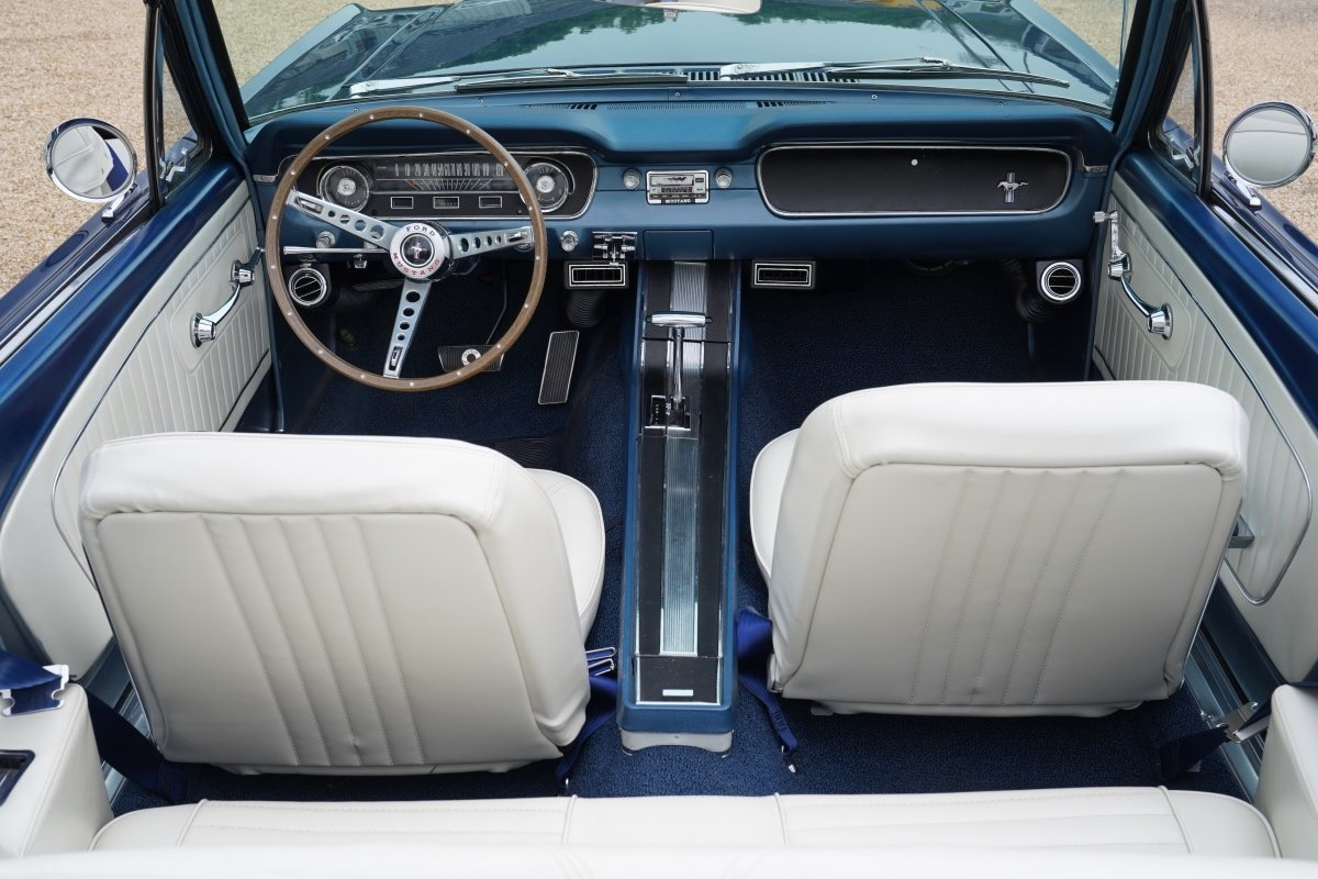 1965 FORD MUSTANG 289 V8 CONVERTIBLE FULL SPECIFICATION For Sale (picture 3 of 6)