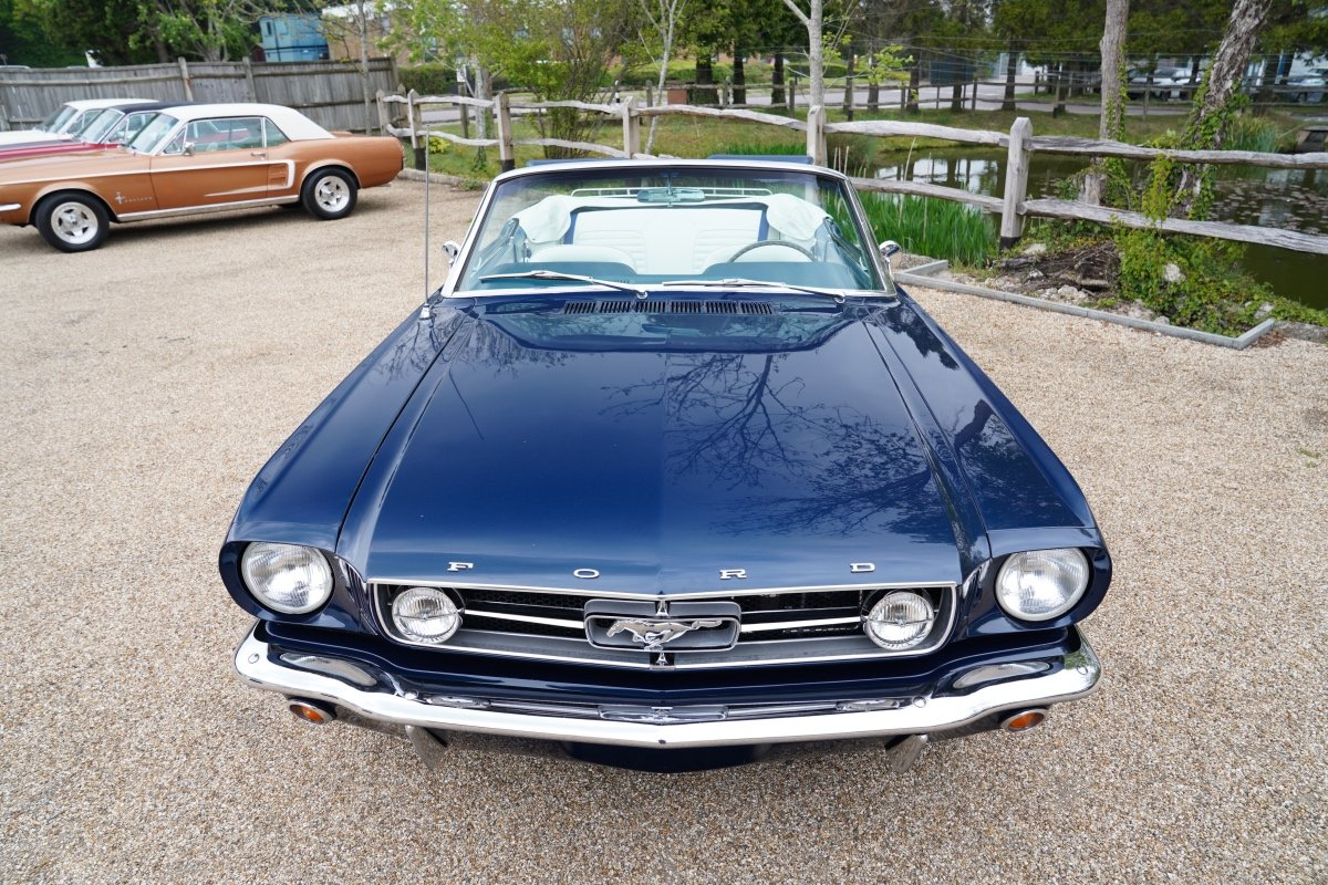 1965 FORD MUSTANG 289 V8 CONVERTIBLE FULL SPECIFICATION For Sale (picture 4 of 6)