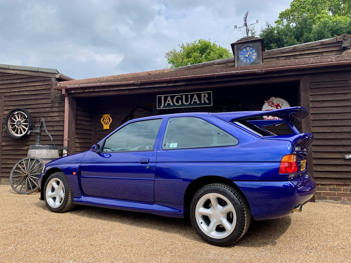 1995 FORD ESCORT RS COSWORTH. 18,000 MILES UNRESTORED PERFECTION. SOLD (picture 2 of 6)