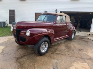 1941 Ford Super Deluxe Convertible Gasser For Sale