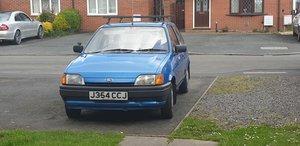 Classic mark3 1991 Ford Fiesta 1.1 stil roadworthy For Sale