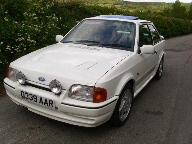 1990 ford escort rs turbo For Sale (picture 1 of 6)