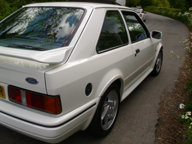 1990 ford escort rs turbo For Sale (picture 5 of 6)
