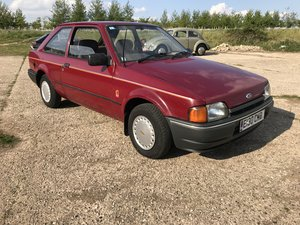 Ford Escort MK4 1.3L 1988 3 Door - Lovely Example For Sale