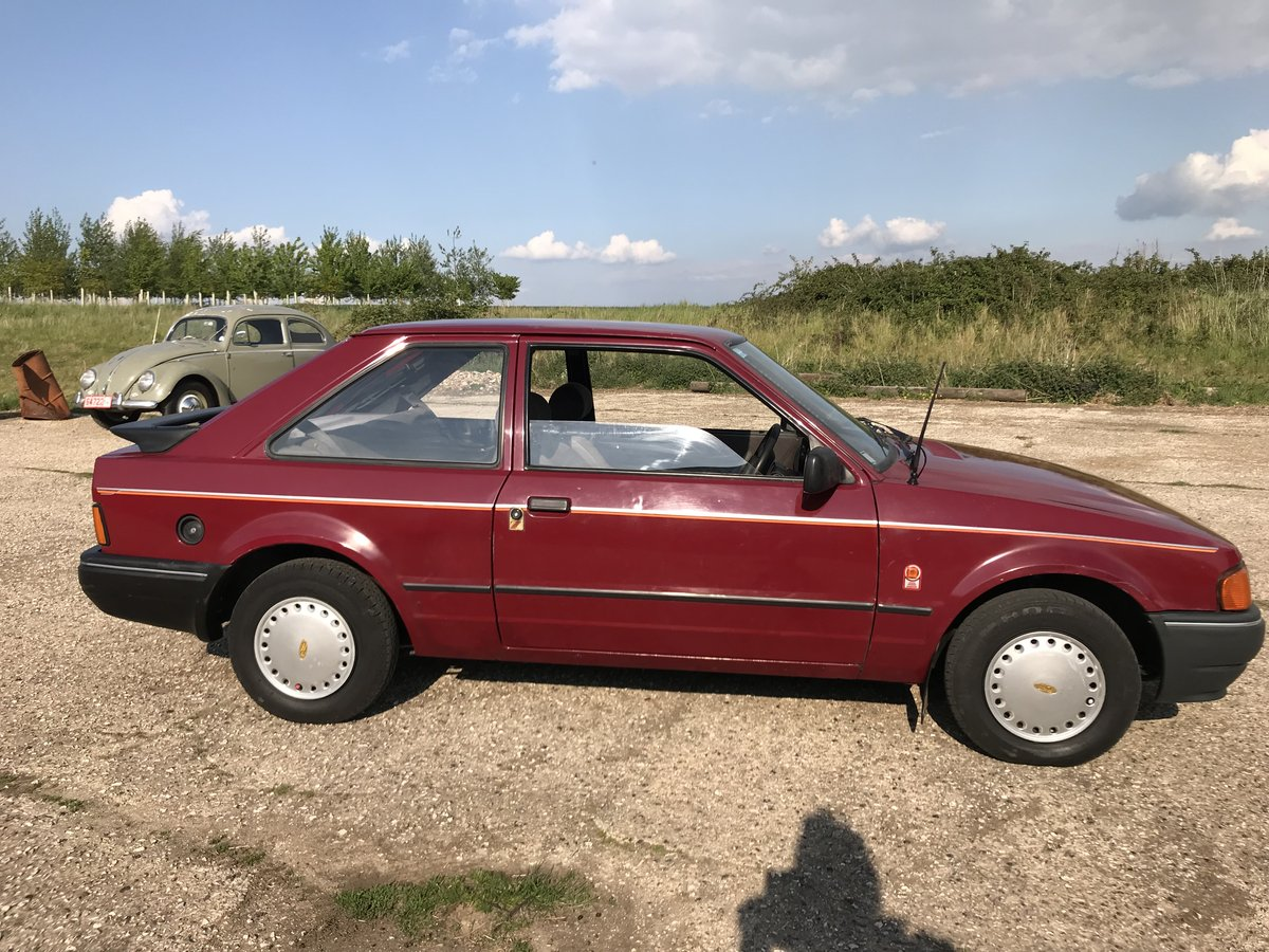 Ford Escort MK4 1.3L 1988 3 Door - Lovely Example For Sale (picture 2 of 6)