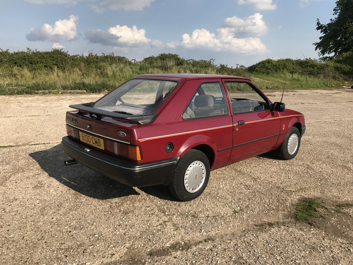 Ford Escort MK4 1.3L 1988 3 Door - Lovely Example For Sale (picture 3 of 6)