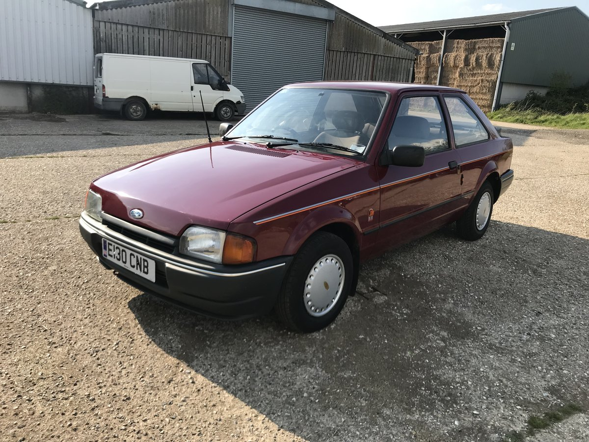 Ford Escort MK4 1.3L 1988 3 Door - Lovely Example For Sale (picture 6 of 6)
