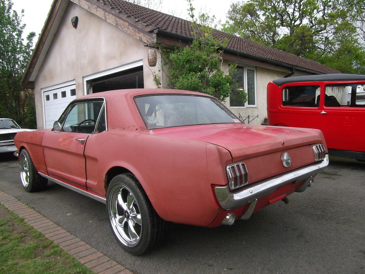 1966-Mustang-Coupe-289-v8-Automatic, Needs Paint SOLD (picture 4 of 6)