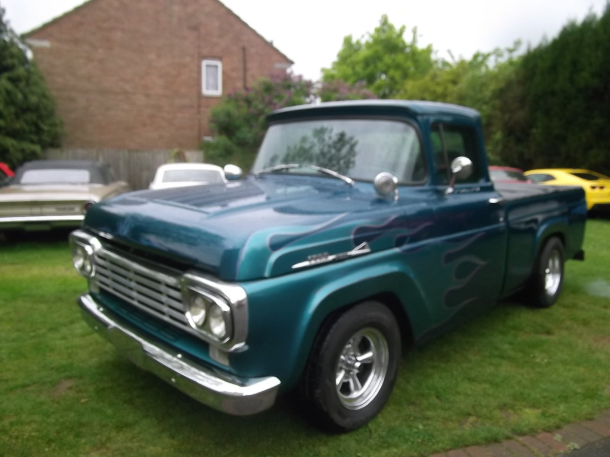 1958-Ford-F100-Pick-Up-Truck-460-7500cc) V8, Automatic SOLD (picture 1 of 6)